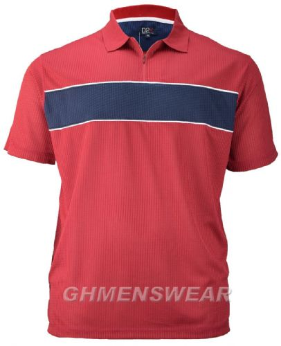 D2K Mesh Polo Shirt - RED